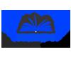 Logo of open book